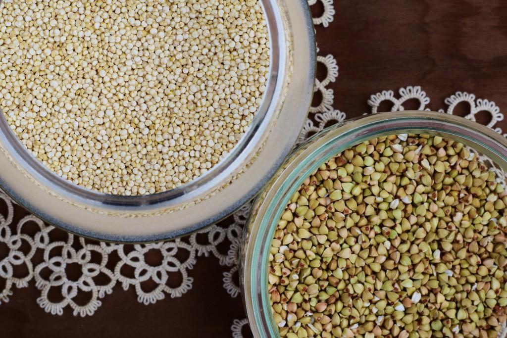 buchweizen,quinoa