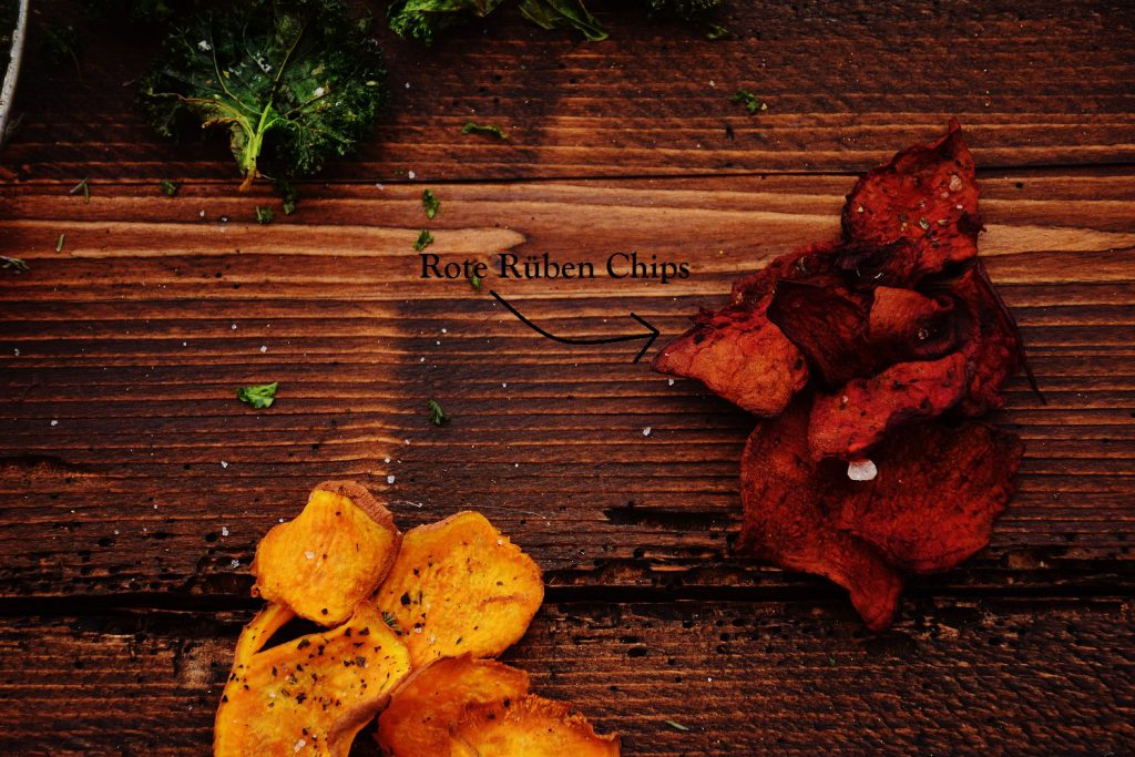 Rote Beete Chips selber machen