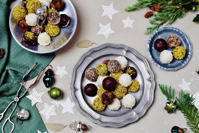 Raw Energy Balls: Weihnachtspralinen