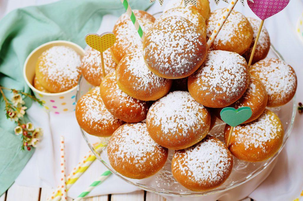 Fluffige Ofenkrapfen: Rezept für Krapfen aus dem Backofen