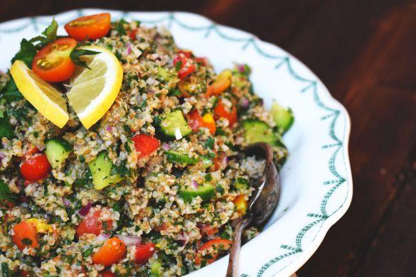 Taboulé - orientalischer Bulgur-Salat