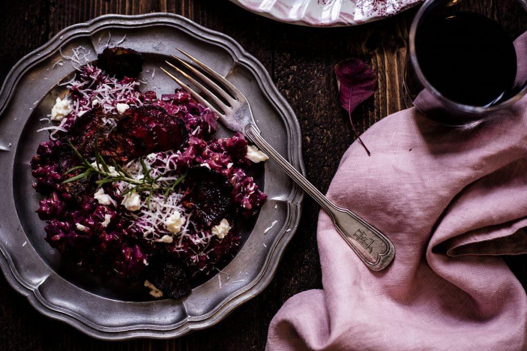 Rote-Rüben-Risotto - ein gesundes Herbstrezept