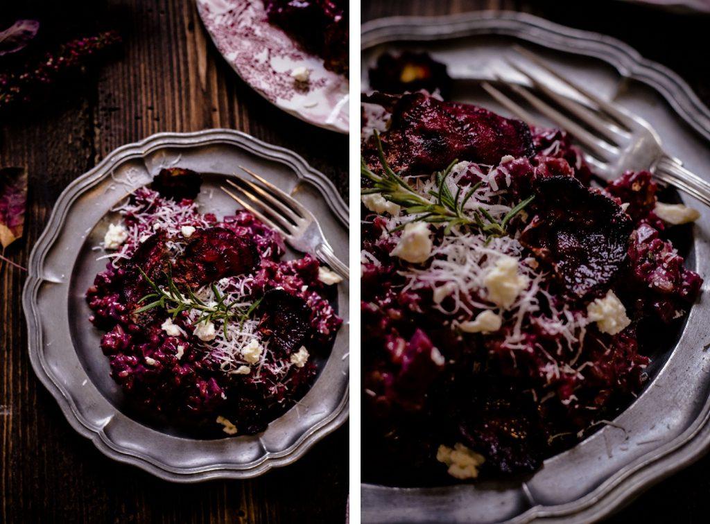 Rote-Rüben-Risotto - vegetarisches Rezept
