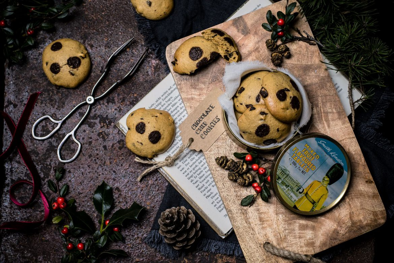 Gesunde Chocolate Chip Cookies mit Kokosblütenzucker