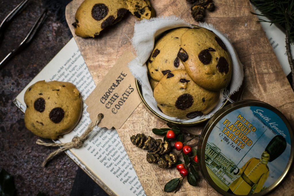 Gesunde Chocolate Chip Cookies ohne Zucker