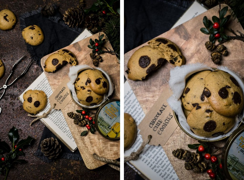 Gesunde Chocolate Chip Cookies: ohne Butter, ohne Zucker, ohne Weizen