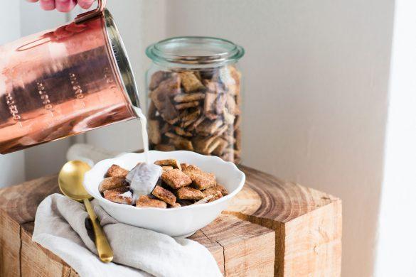 Rezept für gesunde Zimtkissen - ganz einfach selber machen