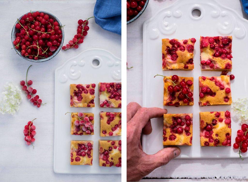 Zuckerfreier Ribiselkuchen ohne Schneehaube