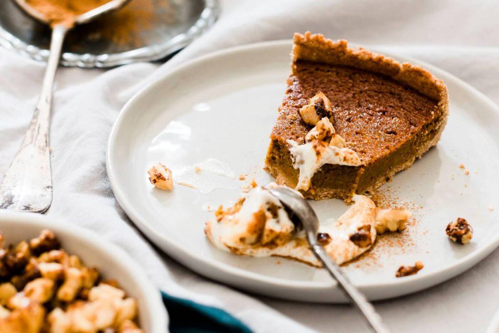 Rezept für einen gesünderen Pumpkin Pie